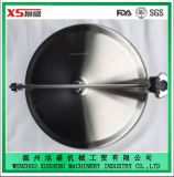 Ss316 400mm Non Pressure Manhole Cover with Stainless Steel Handle