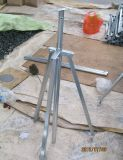Galvanized Steel Bracket Metal Frame Metal Mount Steel Legs