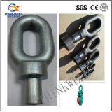 Forged Alloy Steel Block Fittings Swivel Oval Eye
