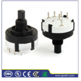 Power 4p3t 3 Position Rotary Switch