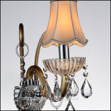 K9 Crystal Gold Sconce Wall Light Lamp for Hotel Lobby