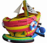 Small Cute Inflatable Pirate Boat