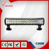 Hot Selling 20 Inch 12V 126W LED Flood Light Bar