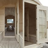 2013 New Design Wooden Barrel Infrared Saunas Room (SR158)