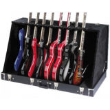 Factory Wholesale 8 Electric or 6 Acoustic Guitar Case