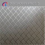 Three Bars Pattern Checkered Stainless Steel Sheet