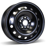 16X6.5 (5-112) Black Snow Wheel
