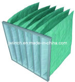 Nonwoven Pocket Filter, Bag Filter, Synthetic Filter