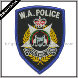 Embroidered Patch for W. a. Police Deparment (BYH-10148)