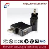 5V 1A USB Charger with USA Plug (WZX-089)