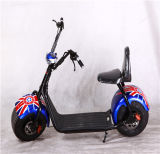 Electric Car/Scooters Two Big Wheel Electric Bike Lithium Car Harley Wide Tires Wholesale