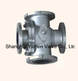 Manual Operation Four Ways Ball Valve (YCQ46)
