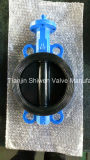 Ggg40 Ggg50 Bare Stem Wafer Type Butterfly Valve