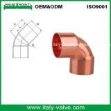 CE Certified Top Quality 45 Degree Copper Elbow (AV8005)