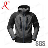 Waterproof Men′s Soft Shell Jacket for Outdoor (QF-420)