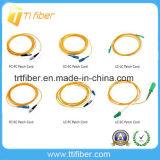 Sc/LC/St/FC Singmode Simpelx Fiber Optic Patchcord