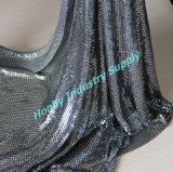 Adorable Hang Curtain, Garment Used Gunmetal Metal Mesh Cloth