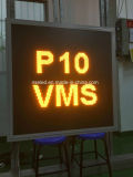 Nse P25 LED Full Matrix Portable Message Board with 12V Solar Power Supply Trailer Vms