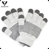 Unisex 100%Acrylic Knitted Double Layer Cheap Promotional Glove