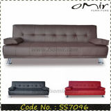 Comfortable High Quality Faux Leather European Sofa Bed