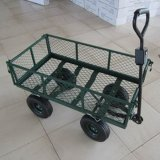 Garden Trailer, Metal Garden Cart