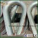 Elctro Galvanized Welded Wire Rope Thimble
