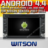 Witson Android 4.4 System Car DVD for Nissan Sentra (W2-A9900N)
