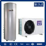 Family Dhw 220V 3kw, 5kw, 7kw, 9kw 250L Split Air Heat Pump Max 60deg. C Sanitary Hot Water (CE, TUV, EN14511, Australia certificate)