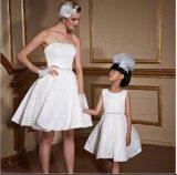 2017 Empire Waist Sweetheart Pleating Taffeta Knee-Length Maternity Cocktail Dresses