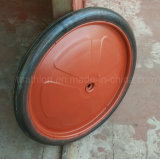 "20"" 20X2 26"" 26X2.5 Solid Rubber Wheel Tire 500 Kg Loading Weight"