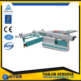 Woodworking Sliding Table Saw with Manual Tilting Saw Blade