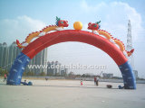 Chinese Style Inflatable Dargon Archway Dargon Arch for Celebration