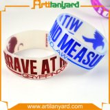 Customized Silicone Bracelet with Soft Enamel