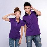 Advertising Promotion Logo Cheap 100% Cotton Polo T Shirt