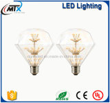 Hot Sale Warm White LED Starry 3W MTX Light Bulb