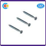 Carbon Steel4.8/8.8/10.9 M10 Galvanized Flower/Cinquefoil Countersunk Head Self Tapping Screws