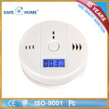 LCD Screen Carbon Monoxide Co Detector with Battery