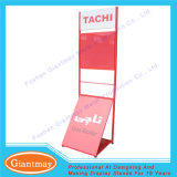 Advertising Single Side Floor Standing Home Appliance Exhibition Display Rack