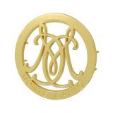 Metal Logo for Bags/Wallets Custom Metal Hollow Logo Plate