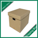 Custom Corrugated B & E Flute Archive Box
