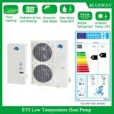 Low Temperature Evi Split Type Heat Pump Work at -25′c
