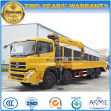 8*4 12 Wheels Heavy Duty Cargo Truck Mounted with XCMG Crane Price