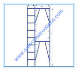 Safe SGS Certified Frame Scaffolding for Construction