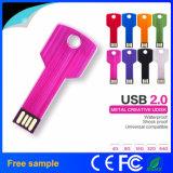 China Manufacter Wholesale Multicolor Steel Key USB Flash Drive