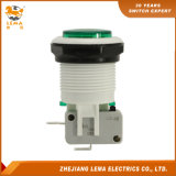 IP40 Protection Level Green 34mm Push Button Switch Pbs-001
