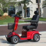 Four Wheel Motor Scooter 950W Hydraulic Tiller Adjusted Mobility Scooter