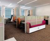 Modern Sofa Furniture Wooden Fabric Reception Office Sofa