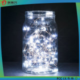 String Lights, Super Bright Warm White Color Wire Rope Lights-White