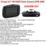 "Cheap 2.4""Full Car Black Box Dash Camera with 5.0mega CMOS, 120degree View Angle, HDMI, AV-out, H. 264 Digital Video Recorder DVR-2405"