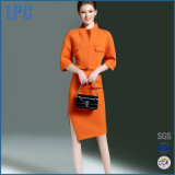 Women Fashion Jacket Two-Piece Slim Package Hip Step Skirt Suit